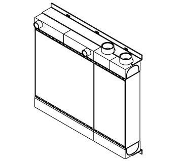 270034 - CAC / Oil Cooler Oil Cooler