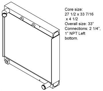 270045 - Radiator Oil Cooler