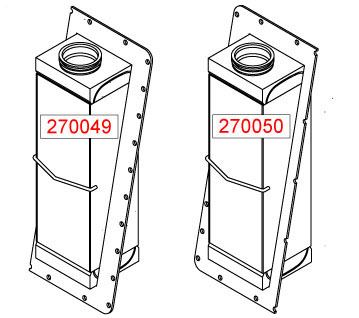 270050 - Charge Air cooler Oil Cooler