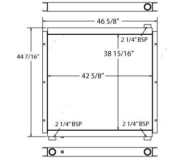 270057 - Oil Cooler Oil Cooler