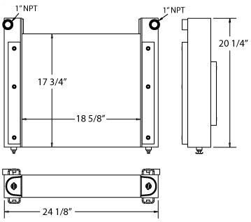 270096 - Fiber Optic Cooler Oil Cooler