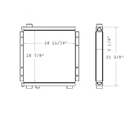 270097 - Oil Cooler Oil Cooler