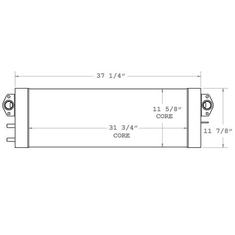 270116 - Komatsu / CAT Oil Cooler Oil Cooler