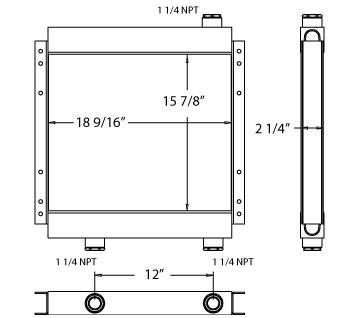 270118 - Oil Cooler Oil Cooler