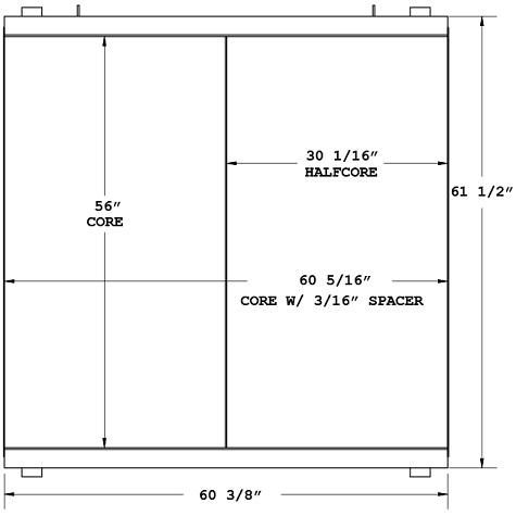 270119 - Sullair Compressor Oil Cooler Oil Cooler