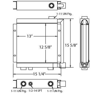 270120 - Oil Cooler Oil Cooler