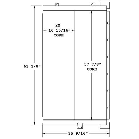270134 - Ingersoll Rand Oil Cooler Oil Cooler