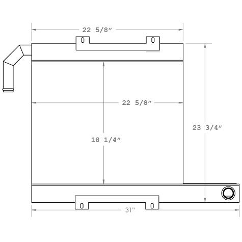 270160 - Oil Cooler Oil Cooler