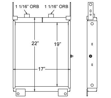 270165 - Oil Cooler Oil Cooler