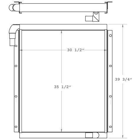 270166 - Oil Cooler Oil Cooler