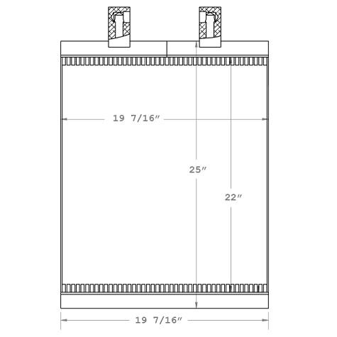 270206 - Industrial Oil Cooler Oil Cooler