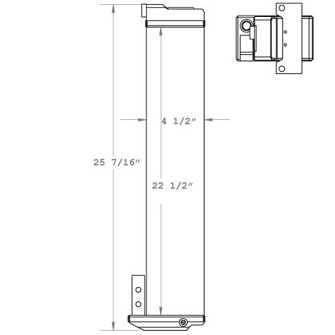 270223 - 1951 CATERPILLAR Oil Cooler OIl Cooler
