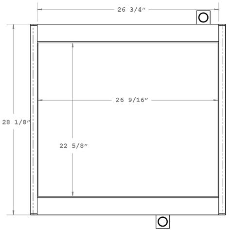 270232 - Industrial Oil Cooler Oil Cooler