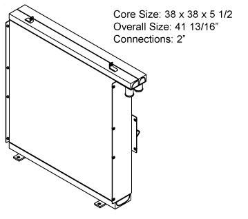 270233 - Industrial Oil Cooler Oil Cooler