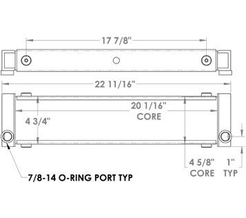 270238 - Oil Cooler Assembly Oil Cooler