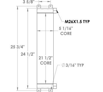 270248 - Oil Cooler Oil Cooler