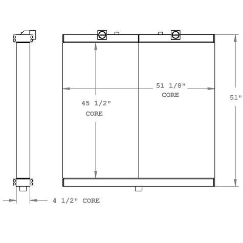 270270 - Oil Cooler Oil Cooler
