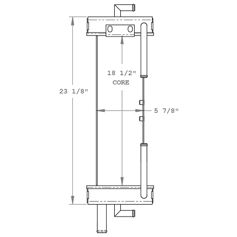 270279 - John Deere 5010 Oil Cooler Oil Cooler
