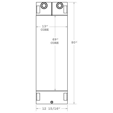 270283 - Oil Cooler part of 2900-54 Oil Cooler