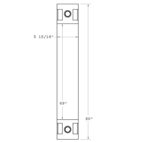 270284 - Oil Cooler part of 2900-54 Oil Cooler