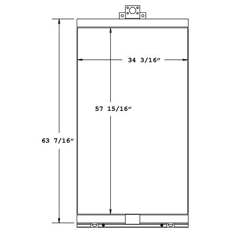 270296 - Ingersoll Rand / Doosan Oil Cooler Oil Cooler