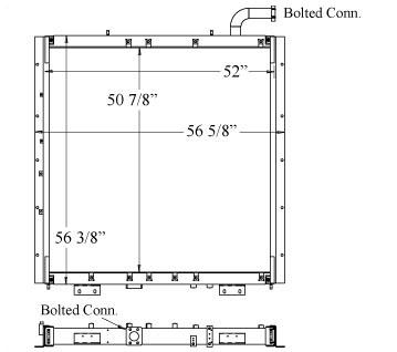 270299 - Komatsu PC1250LC7 Oil Cooler Oil Cooler