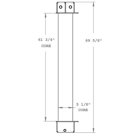 270319 - Morbark Fuel Cooler Oil Cooler