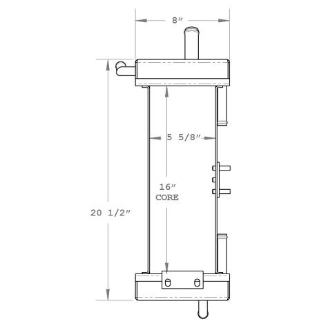 270320 - Oil Cooler Assembly Oil Cooler