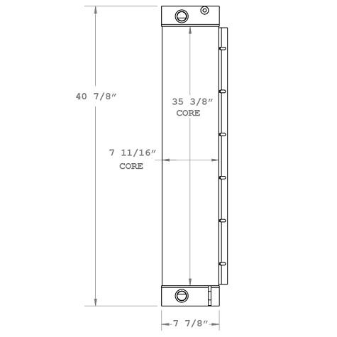 270332 - Hyster RS46-41LS Reach Stacker Lift Oil Cooler