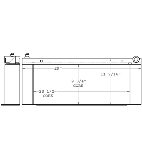 270348 - Industrial Oil Cooler Oil Cooler