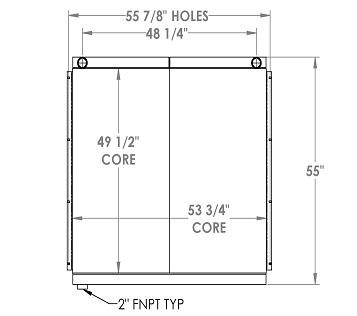 270364 - Industrial Oil Cooler Oil Cooler