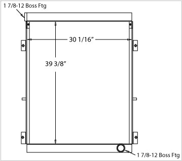 270370 - Industrial Oil Cooler Oil Cooler