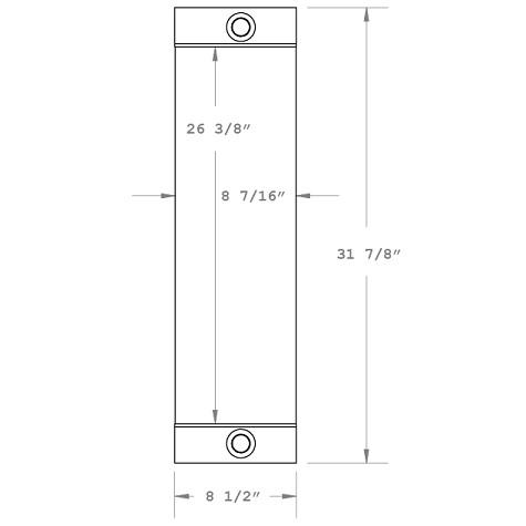 270376 - Industrial Oil Cooler Oil Cooler