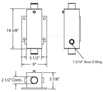 270377 - Coolant to Oil Cooler Oil Cooler
