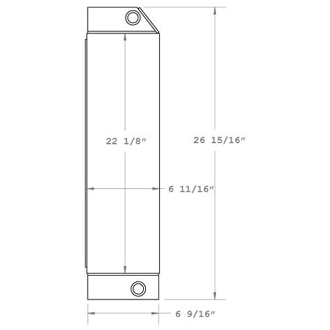 270385 - Manitou Forklift Oil Cooler