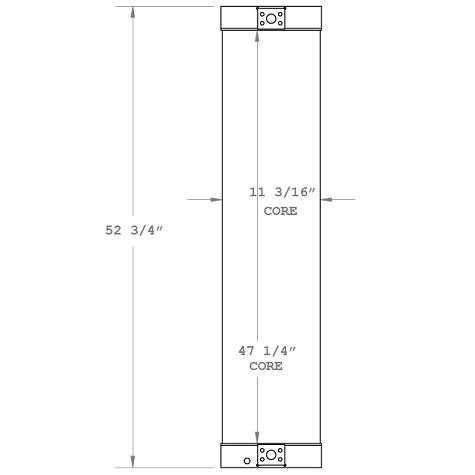 270387 - Industrial Oil Cooler Oil Cooler