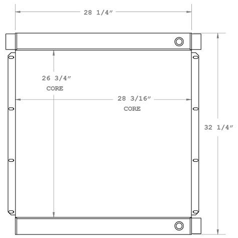 270394 - Industrial Oil Cooler Oil Cooler