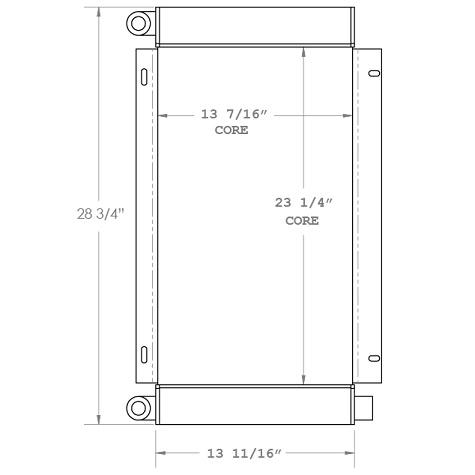 270395 - Industrial Oil Cooler Oil Cooler