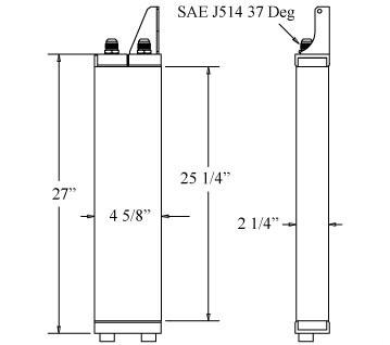 270408 - Oil Cooler Oil Cooler