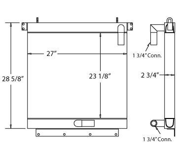 27-0417 - Oil Cooler Oil Cooler