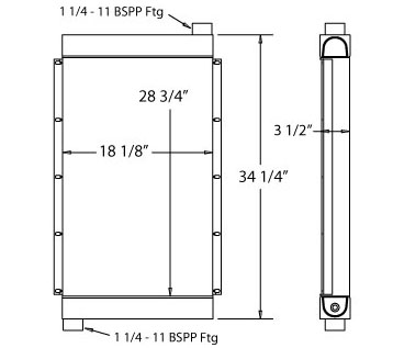270419 - Oil Cooler Oil Cooler