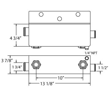 270427 - Komatsu Oil Cooler Oil Cooler