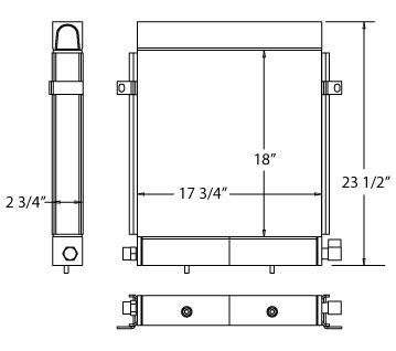 270435 - Daewoo Oil Cooler Oil Cooler