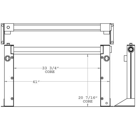 270447 - Industrial Oil Cooler Oil Cooler