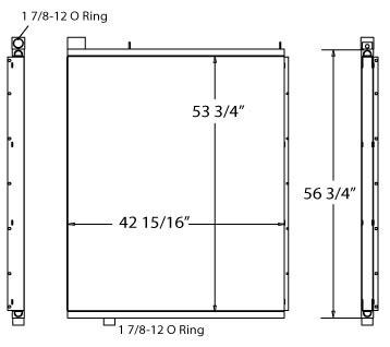 270451 - Ingersoll Rand Oil Cooler Oil Cooler
