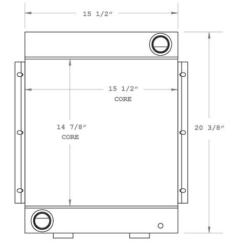 270457 - Plasser MSF 40 Oil Cooler Oil Cooler