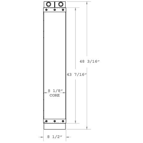 270461 - Industrial Oil Cooler Oil Cooler