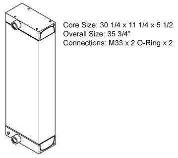 270472 - Case Oil Cooler Oil Cooler