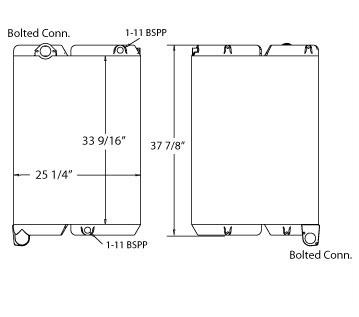270474 - Hydraulic Oil Cooler Oil Cooler