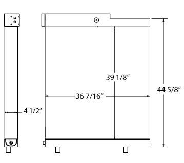 270477 - Industrial Oil Cooler Oil Cooler